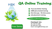 QA Online Training and Placement Assistance in USA