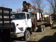 1979 Ford 700 Crane Truck for sale